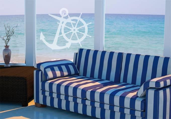 Fensterdekor Seefahrt