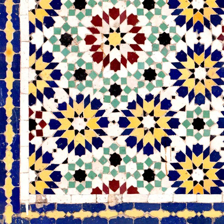 Revetement Pour Cuisine Alu Dibond Carrelage Oriental Wall Art Fr