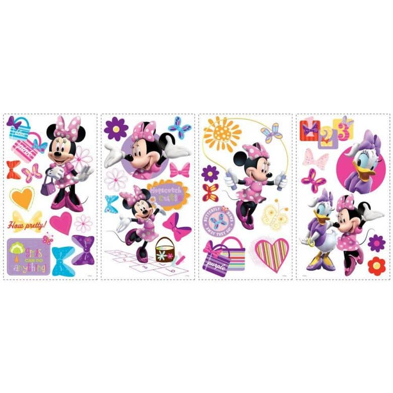 Wandsticker Disney Minnie Mouse - Bow-tique - 33tlg.