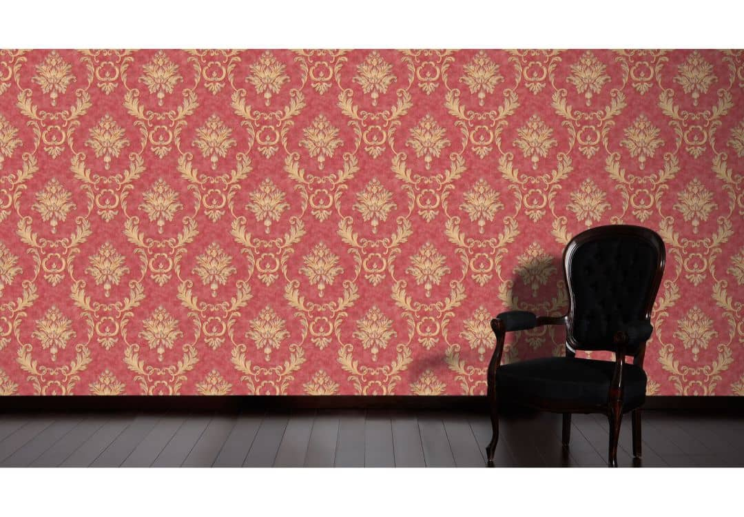 architects paper tapete luxury wallpaper 324226 metallic rot wall. Black Bedroom Furniture Sets. Home Design Ideas