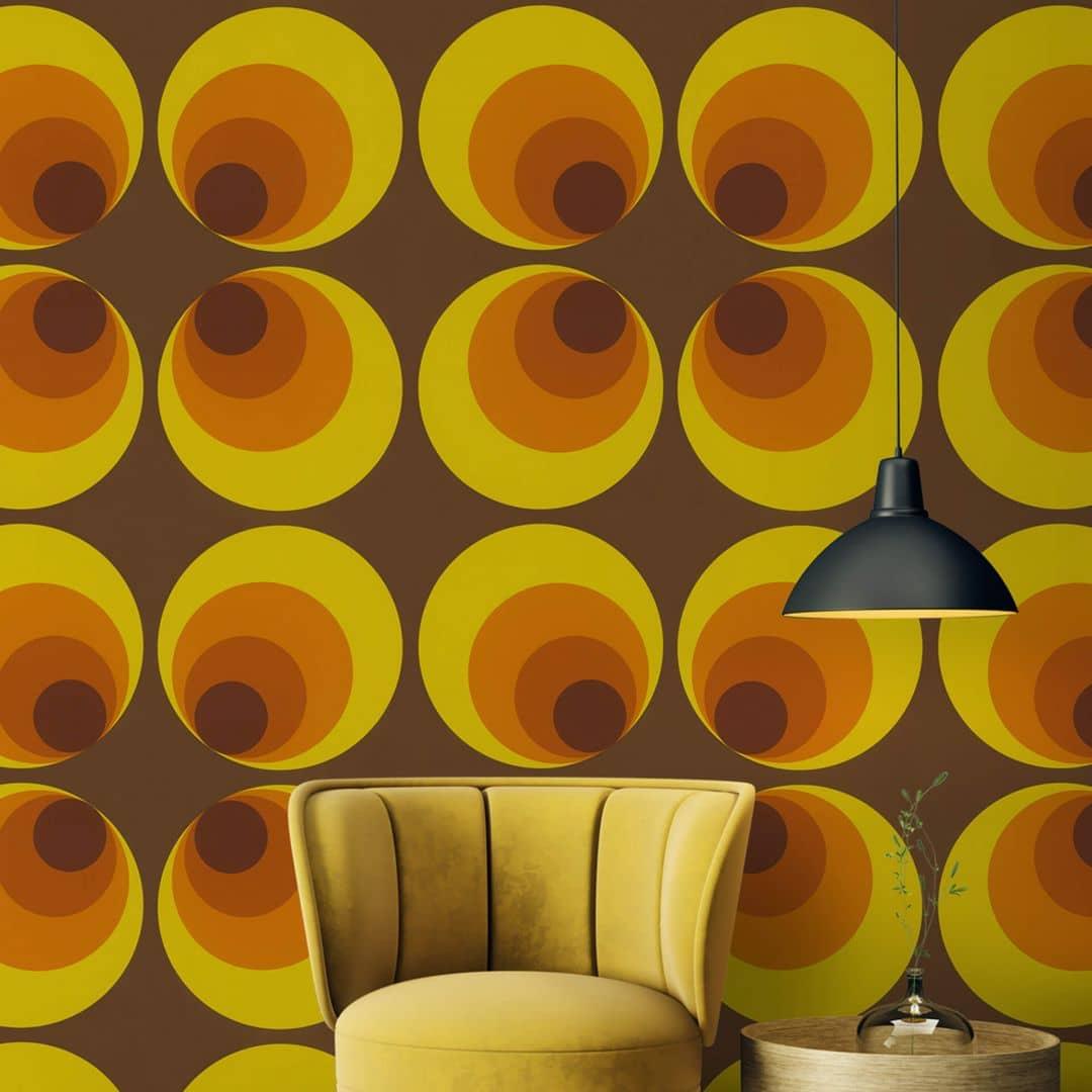 Inspirierend 70er Jahre Tapete Sammlung Von Wohndesign Dekor