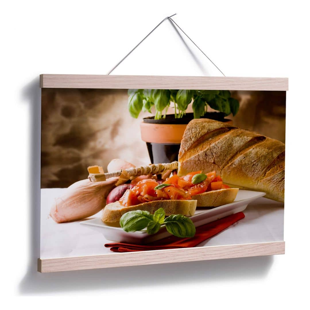 Poster bruschetta all 39 italiana wall - Poster per cucina ...