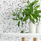 Patterned Wallpaper Terrazzo