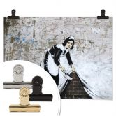 Poster Banksy - Maid in London