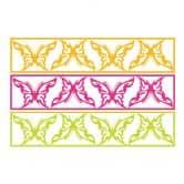 Wandtattoo Für die Welt... + 3D Deko-Schmetterlinge mit Tesa-Tack (4-teilig)
