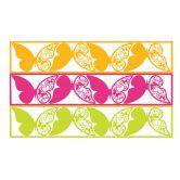 Wandtattoo Habe stets den Mut... + 3D Deko-Schmetterlinge 2 mit Tesa-Tack (4-teilig)