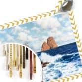 Poster Choultsé - Die Felsen bei Capri