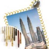 Poster Colombo - Petronas Towers in Kuala Lumpur