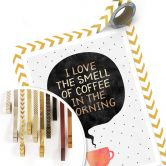 Poster Fredriksson - I love the smell of coffee