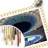 Poster Hertha BSC - Stadion bei Nacht