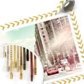 Poster Hugonnard - New York Pastell