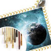 Poster in een ver melkwegstelsel