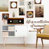 Poster Kubistika - Golden Fern