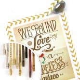 Poster Tohmé - We found Love