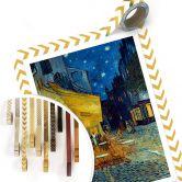 Poster Van Gogh - Terrasse du café le soir