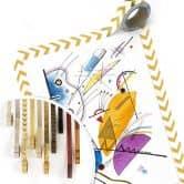 Poster Kandinsky - Ongoing Stripe