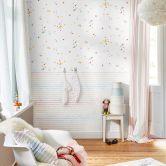 Esprit Kids Papiertapete Stars bunt,weiß