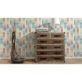 A.S. Création Tapete Kitchen Dreams beige, blau, rot