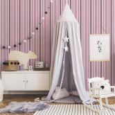 A.S. Création paper wallpaper Boys & Girls 5 pink, purple, white