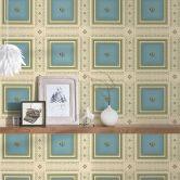 A.S. Création Tapete Hermitage 10 beige, blau, grün