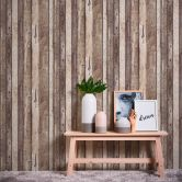 A.S. Création Vliestapete il Decoro Tapete in Vintage Holz Optik beige, braun, grau