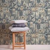 A.S. Création Vliesbehang il Decoro Behang Letters Alfabet