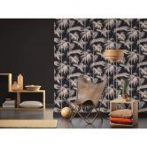 Livingwalls papier peint intissé Metropolitan Stories papier peint Lola Paris métallisé;rose;noir