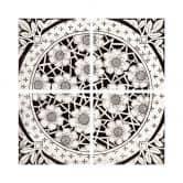 Adesivi per piastrelle - Fiori vittoriani scuri