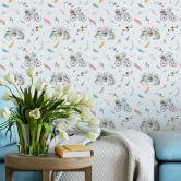 Patterned Wallpaper Kristina Kvilis – Spring