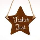 Eisenschild Merle - Frohes Fest