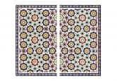 Herdabdeckplatte Orientalische Kacheln
