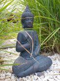 Sitzender Buddha - Statue Meditation für Garten und Raum