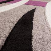 Design-Teppich Netherlands - Venlo Silber 120cm x 170cm