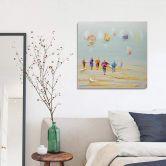 Öl-Wandbild Strand 80cm x 80cm