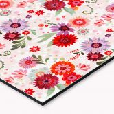 Küchenrückwand - Alu Dibond - Blütentraum