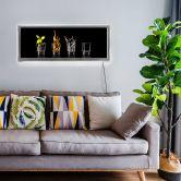 LED-Wandbild - Frutos Vargas - The Four Elements - 100x40 cm