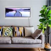 LED-Wandbild - Seepanorama - 100x40 cm