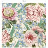 Patroonbehang UN Designs - Vintage Flowers