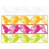 Wandtattoo Ein positiver Gedanke... + 3D Deko-Schmetterlinge 2 mit Tesa-Tack (4-teilig)
