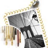 Poster Brooklyn Bridge Perspektive