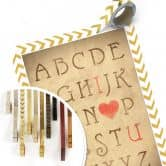 Poster - Love Alphabet