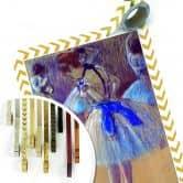 Poster Degas - Ballerina mentre si lega il fiocco