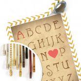 Poster + Wunschtext Love Alphabet