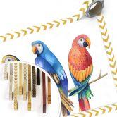 Poster Kvilis - Bunte Papageien