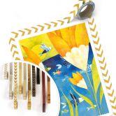 Poster Blanz - Gelbe Tulpen