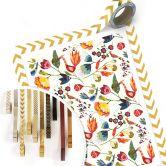 Poster Blanz - Blumen und Vögel