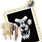 Affiche Tête de lion