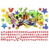 Wandsticker-Set Disney Mickey and Friends - 116-teilig