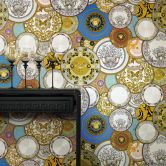 Versace - carta da parati Les Etoiles de la Mer 2