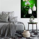 Wallprint W - Blütenpracht einer Orchidee